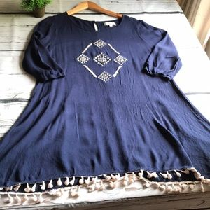 Umgee Navy tunic in Large